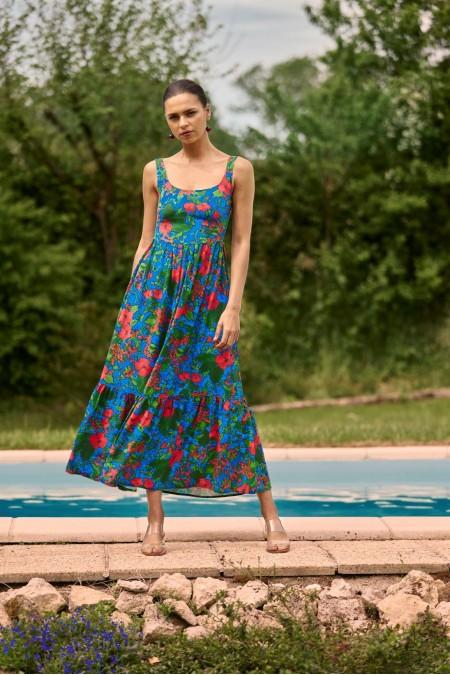 Ode to Summer Midi Dress