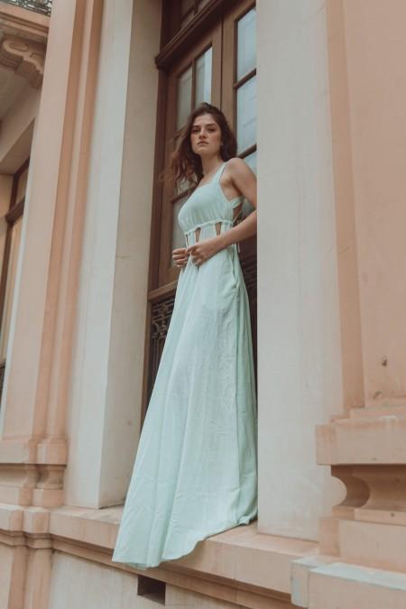 Hebe Dress Mint